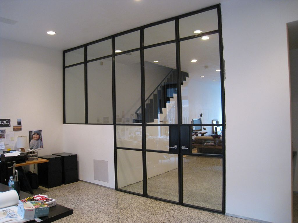 Glass Wall Room Side Elevation Glass Wall Partition With O Flickr 60329190 How To Install Sliding Bar Glass Partition Wall Glass Wall Wooden Room Dividers