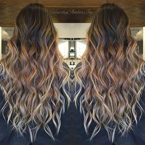"Winnipeg Hairstylist on Instagram: ""Colormelts & Beach Waves"""