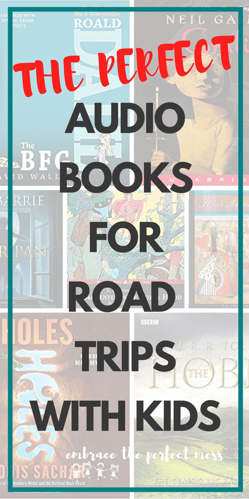 of the greatest audio books for families road trip ideas for