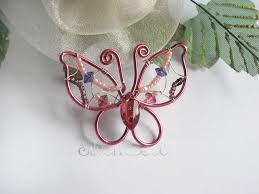 Image result for orecchini wire farfalla