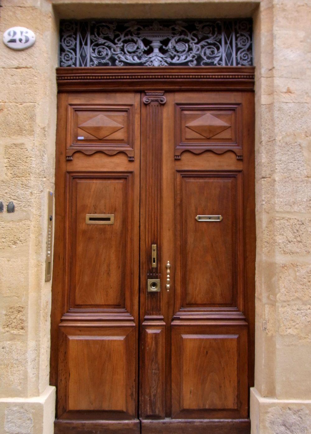 Franz sische vintage haust r holz t ren doors - Pinterest holz ...