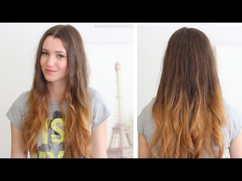 How To Ombre Your Hair At Home Diy Loreal Wild Ombre Kit Review Youtube How To Ombre Your Hair Light Hair Color Medium Blonde Hair