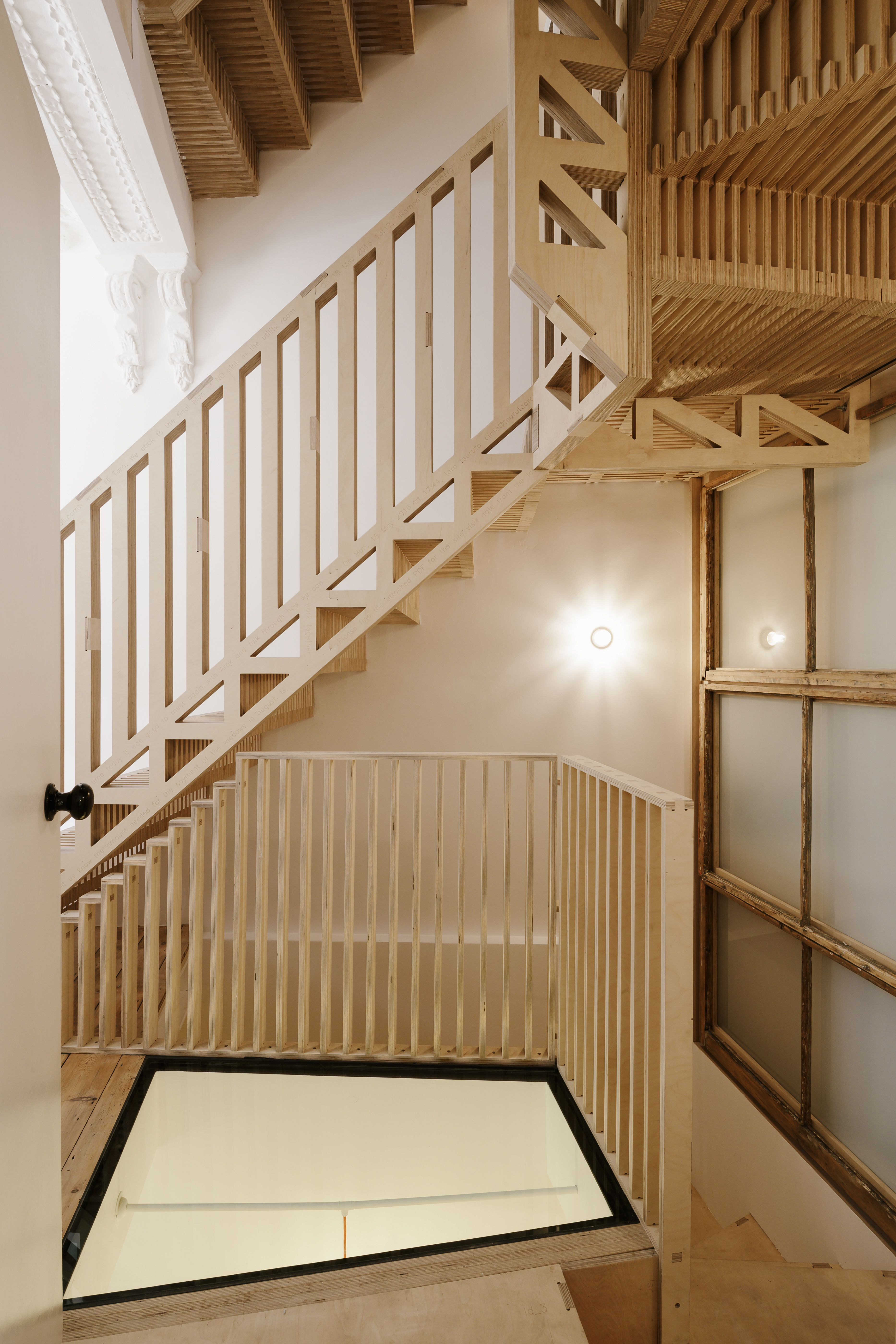 Best Marie S Wardrobe Stair Railing Design Timber Stair 400 x 300