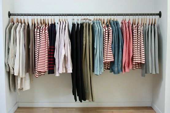 Retail Simple Metal Rod For Hanging Clothes By