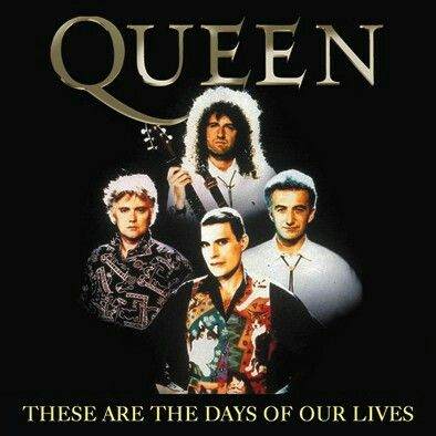 These Are The Days Of Our Lives Bohemian Rhapsody Was Sang By Queen In 1991 Queen Videos Beautiful Songs Days Of Our Lives