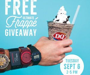 Free Ultimate Oreo Frappé at Dairy Queen - Tomorrow 9/6 - http://www.couponoutlaws.com/free-ultimate-oreo-frappe-at-dairy-queen-tomorrow-96/