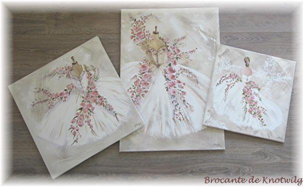 Schilderijen  by Manja   webshop Brocante de Knotwilg