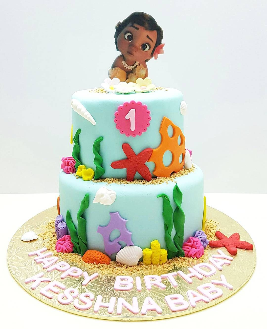 Resultado de imagen para moana cake | Cumple 2 | Pinterest ...