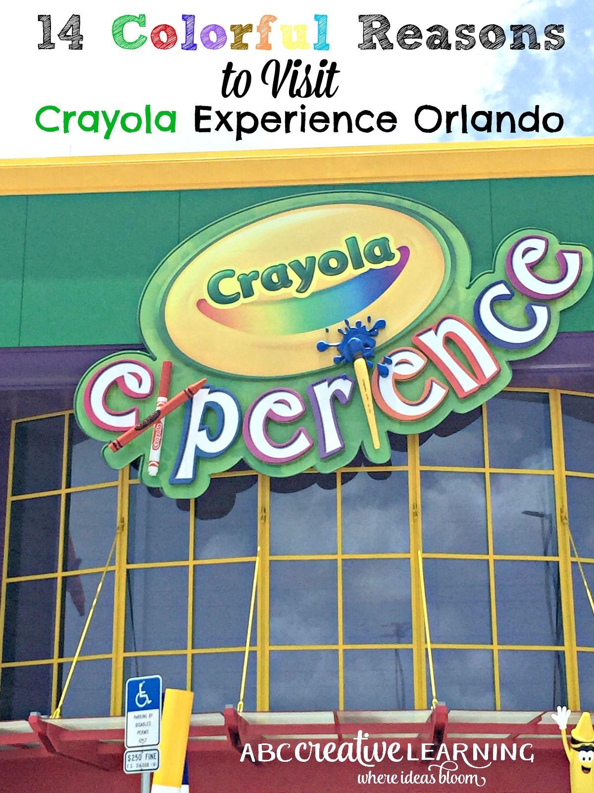 Crayola experience orlando coupons