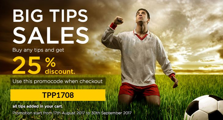 betfame BiG Tips Sales!! Enjoy 25% on all tips purchase  Grab your