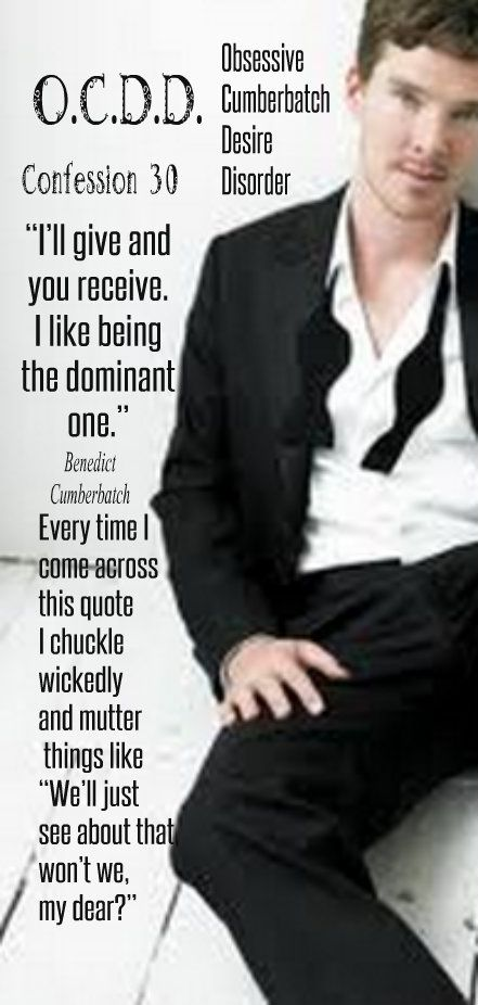 <3 OMG, this ....... I did not need this ........... OMG, yes I did. <3 The Dominant One <3    * continuing series....*