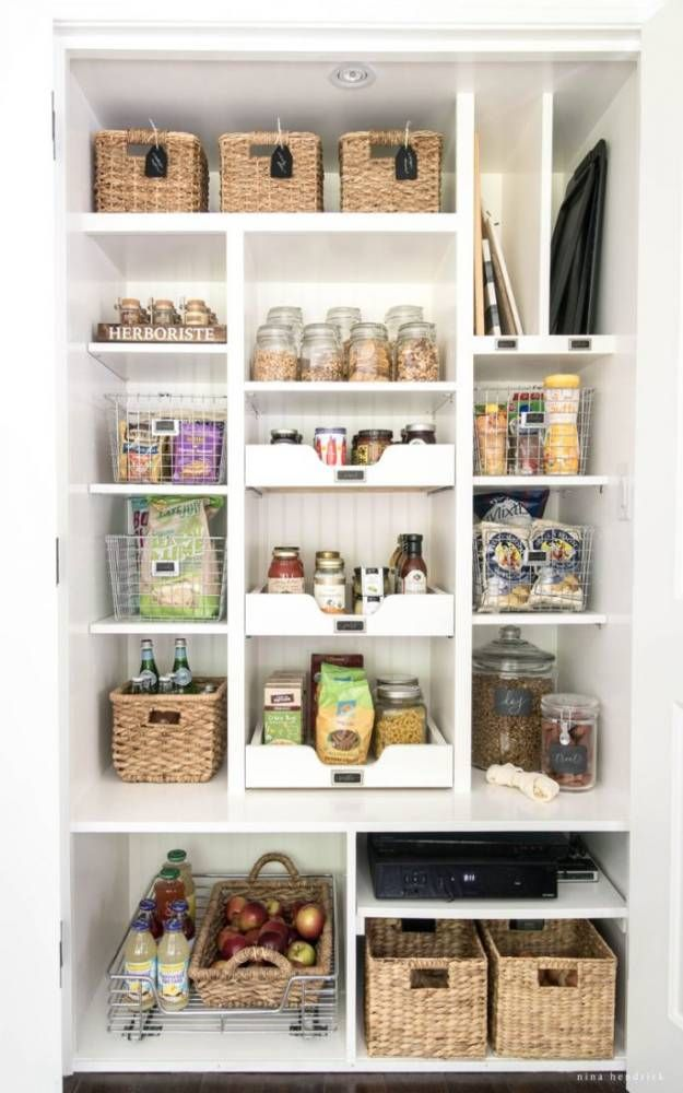 Pantry Organization | 21 Easy Kitchen Organization Ideas For A Clutter Free  Home Organize