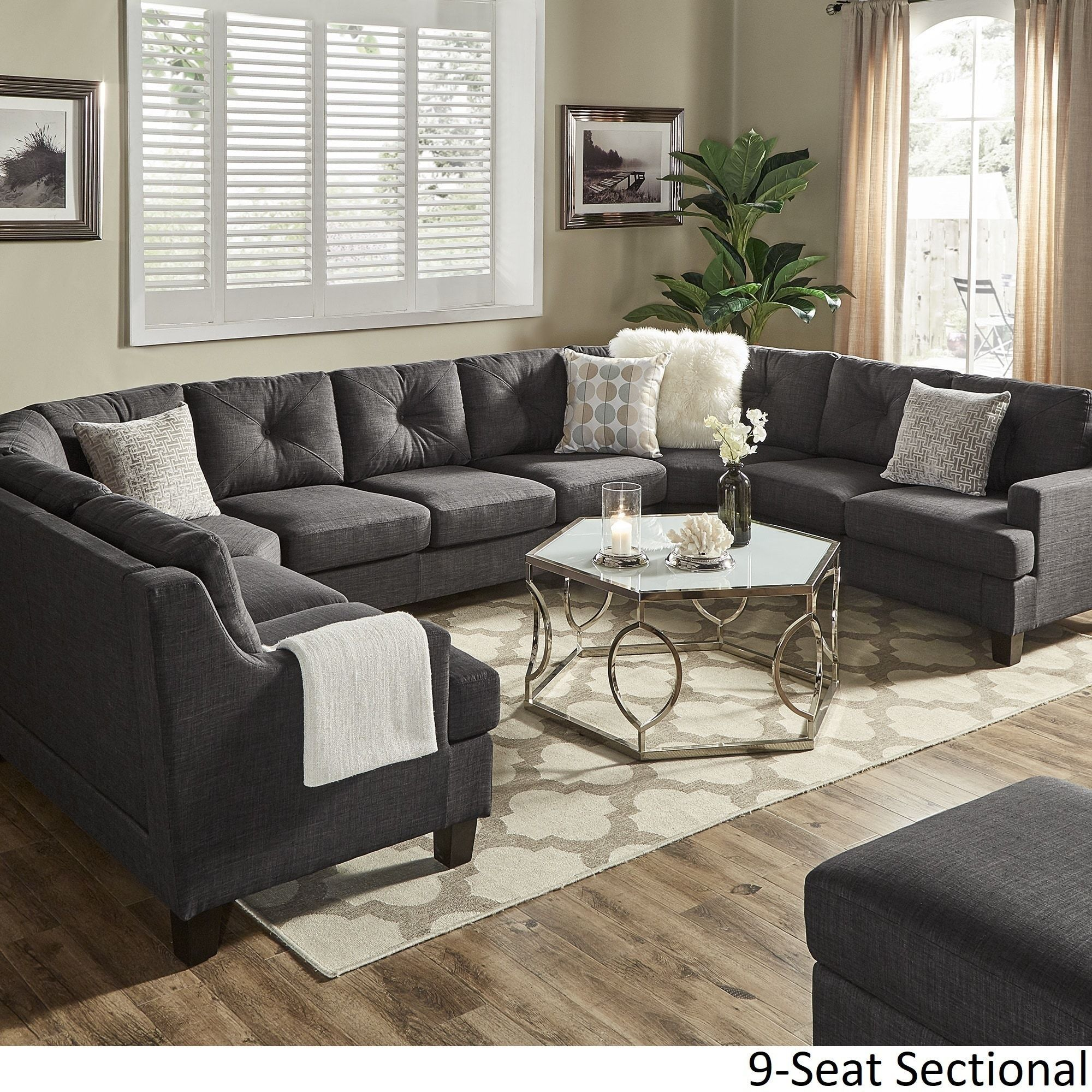 To the administration of the website, we need a show and tell section for people who just want to show off there finished projects. Our Best Living Room Furniture Deals | Gray sectional ...