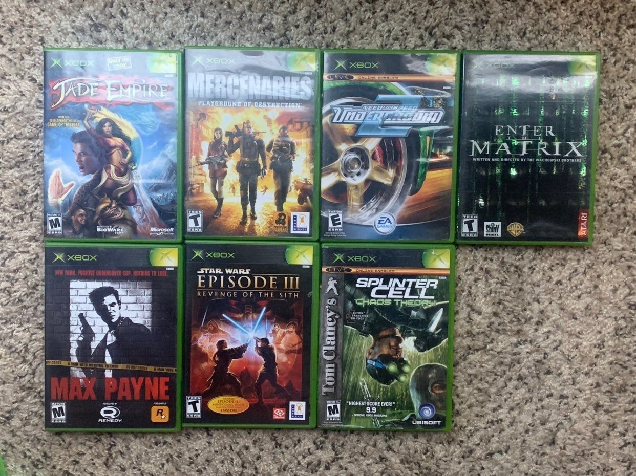 Selling A Bundle Of Video Games Xbox 360 Halo 4 Call Of Duty 4 Metal Gear Rising Bf Bad Company Star Wars Episodes Star War Episode 3 Star Wars Battlefront