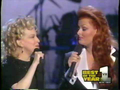 Bette Midler Wynonna Let It Be Me Live These Las Give