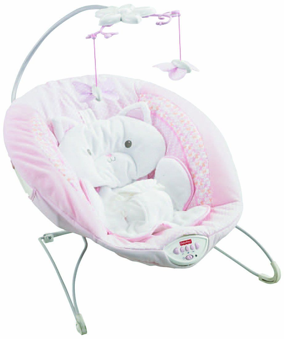 0f980bd80f7f Amazon.com   Fisher-Price My Little Snugakitty Bouncer   Infant ...