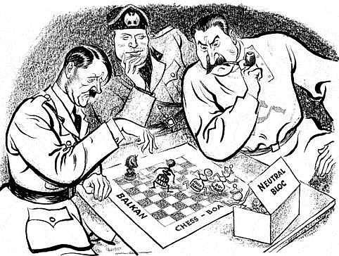 relationship between germany and russia during world war 2