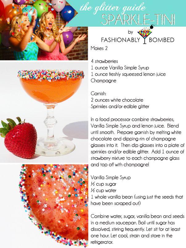 GG cocktail: Sparkle-tini
