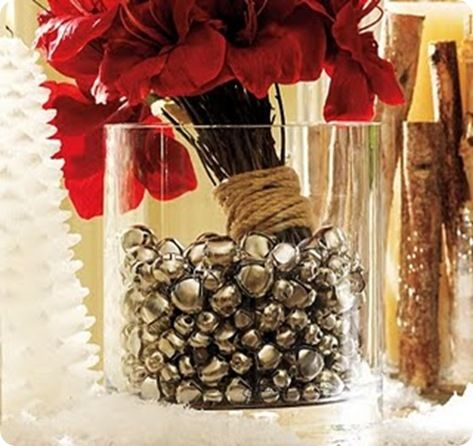 Christmas Bell Decoration Ideas More Jingle Bell Ideasjust A Centerpiece Somewhere Or Place Your