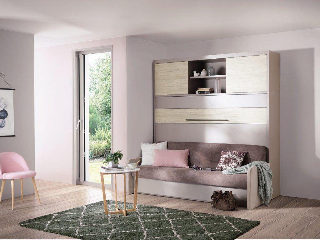 Magik Sofa Wallbed Horizontal from The London Wallbed