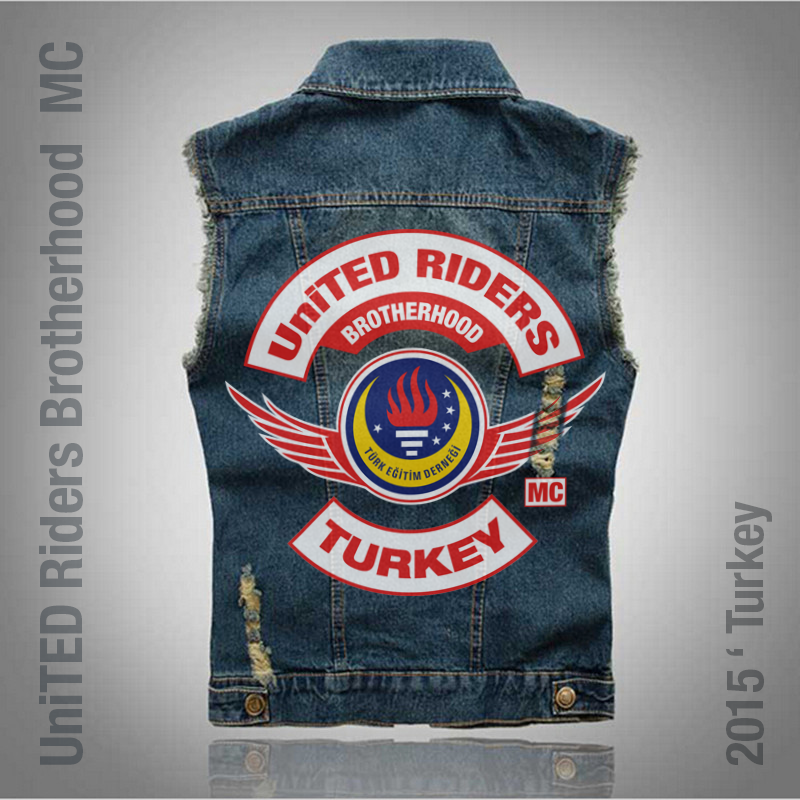 #ugurbilgin #UniTED #Riders #Brotherhood of #Turkey | Club Pathes MC Cut