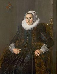 Cute Frans Hals Portrait de Cornelia Claesdr Vooght pouse de Nicolaes Van der Meer