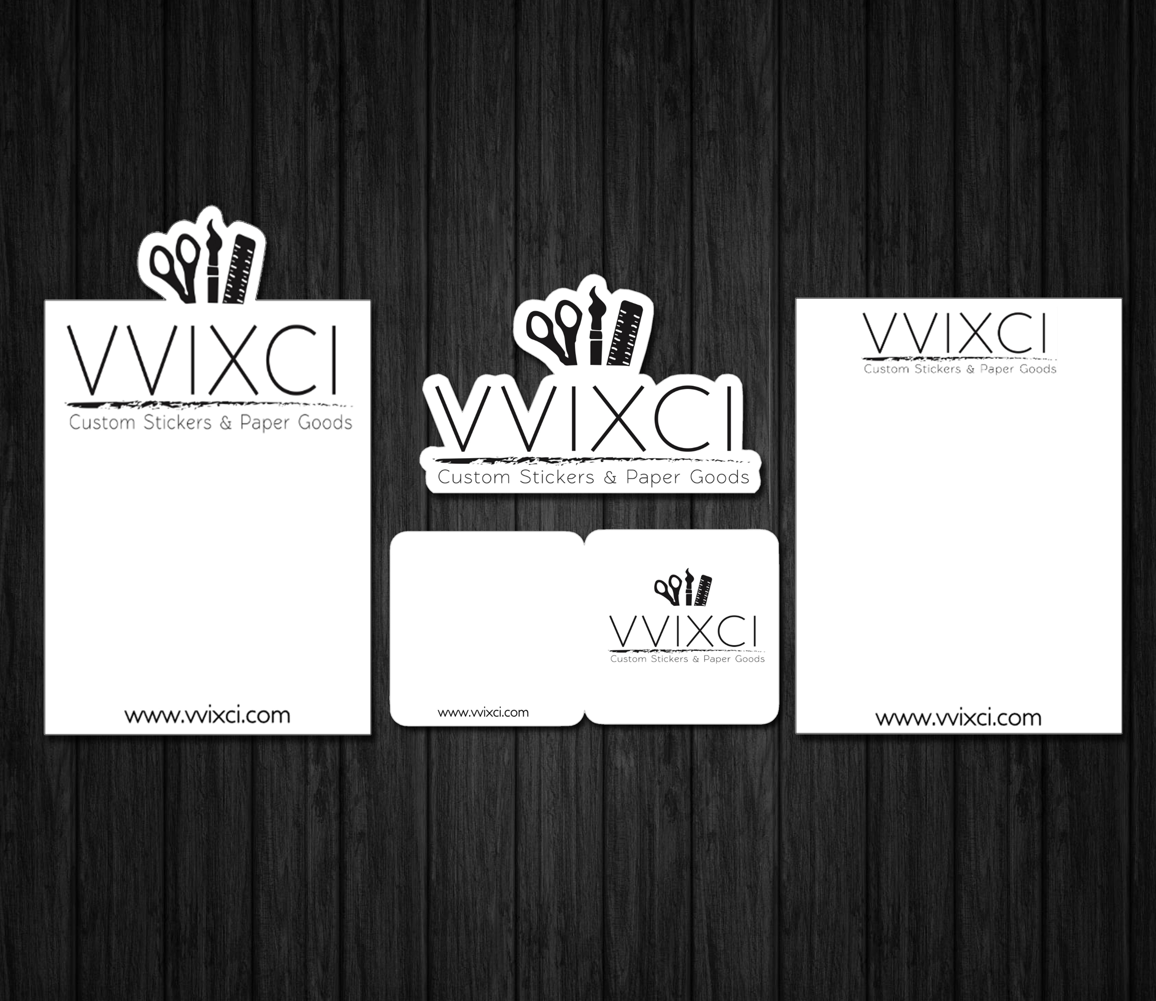 Custom Branding Bundle Small Business Thank You Cards Logo Cutdie