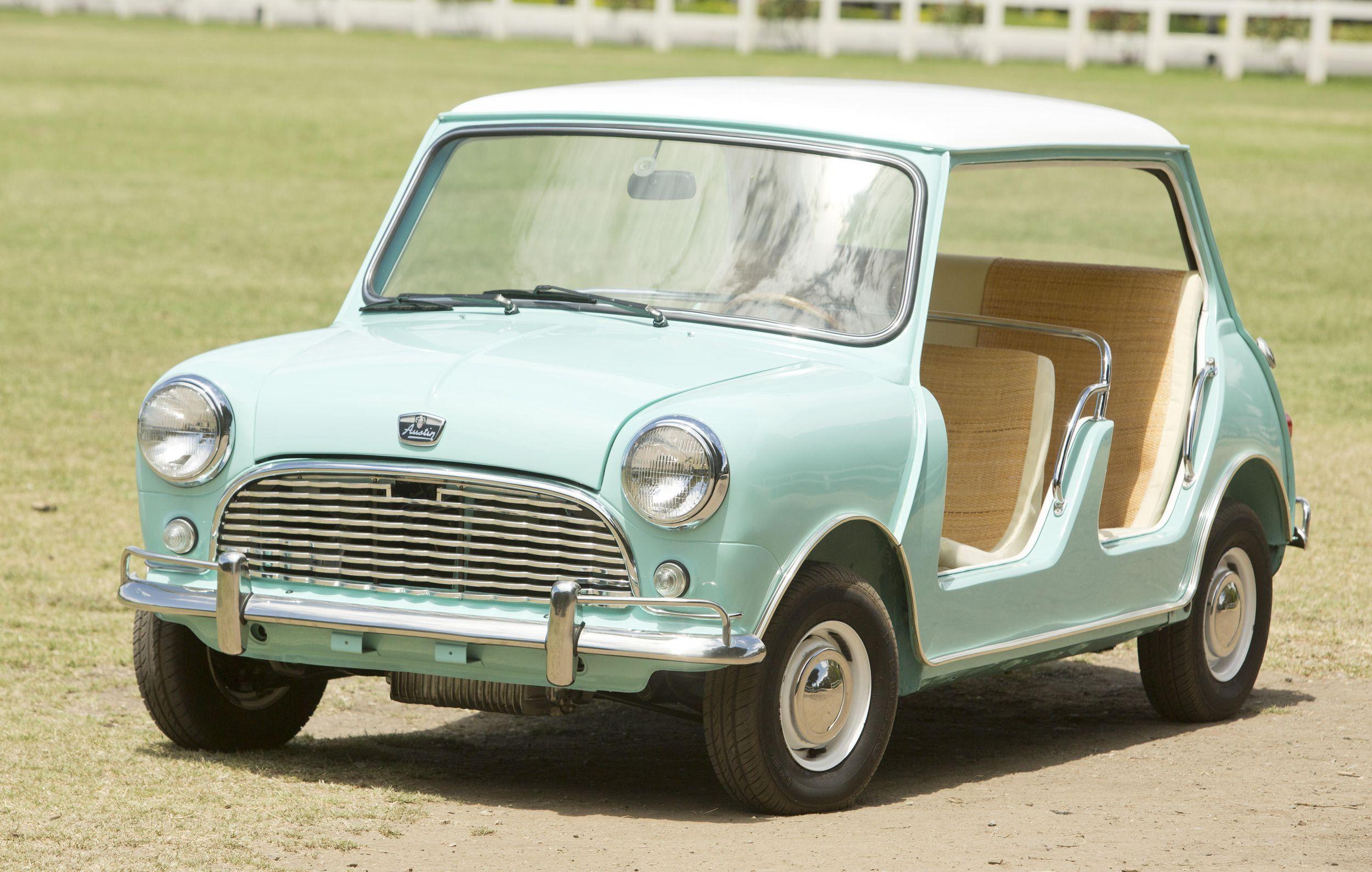 Mini blog - new record price for Mini beach car | Mini | Pinterest ...