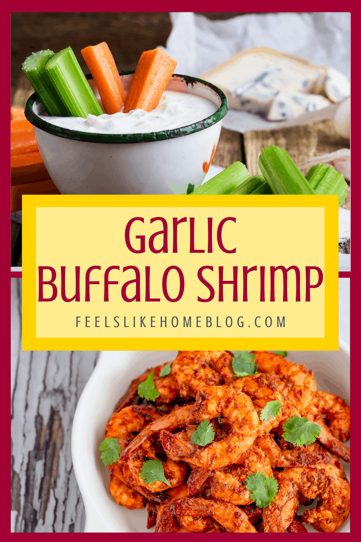 Garlic Buffalo Shrimp – Healthy, Low Carb Seafood Recipe