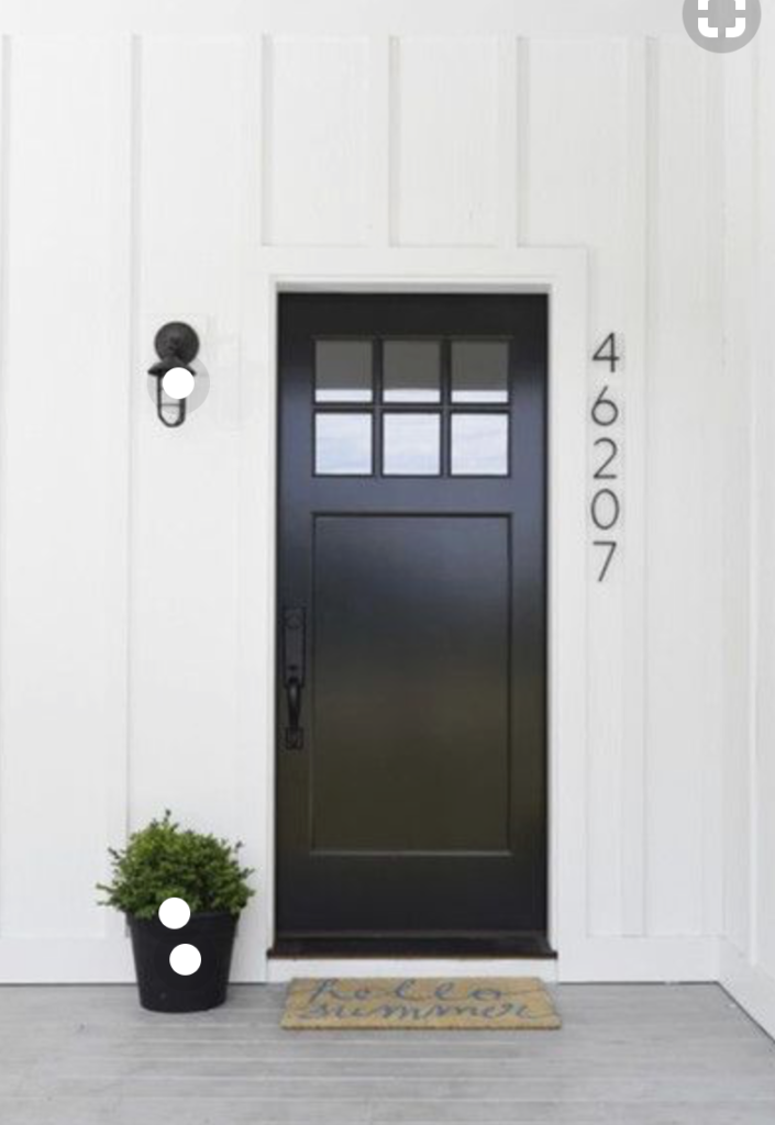 Front Porch Updates New Door Color Options Amherst Gray Or Carbon