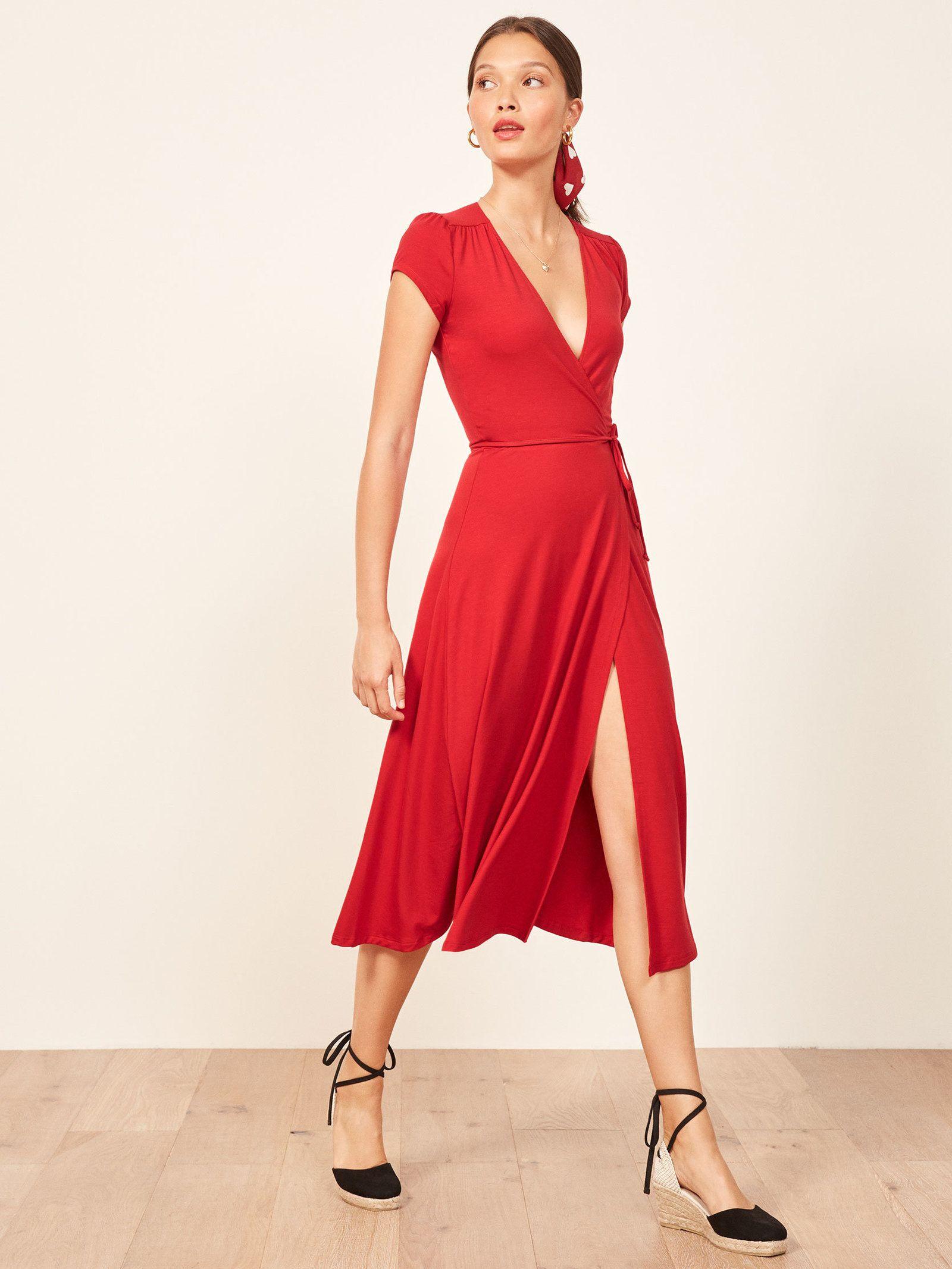56645249ede6 The Reformation Becca Dress | Style i like | Dresses, Fashion, Dress ...