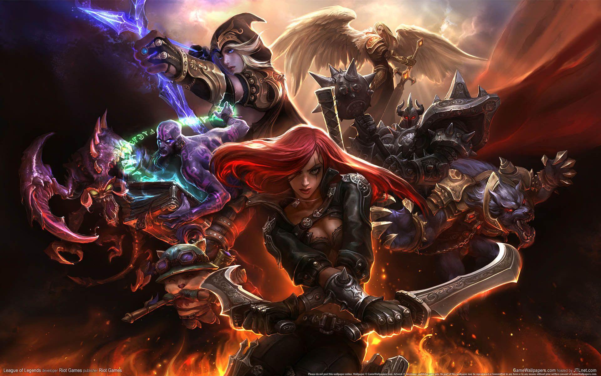 League Of Legends Wallpaper Play League Of Legends League Of