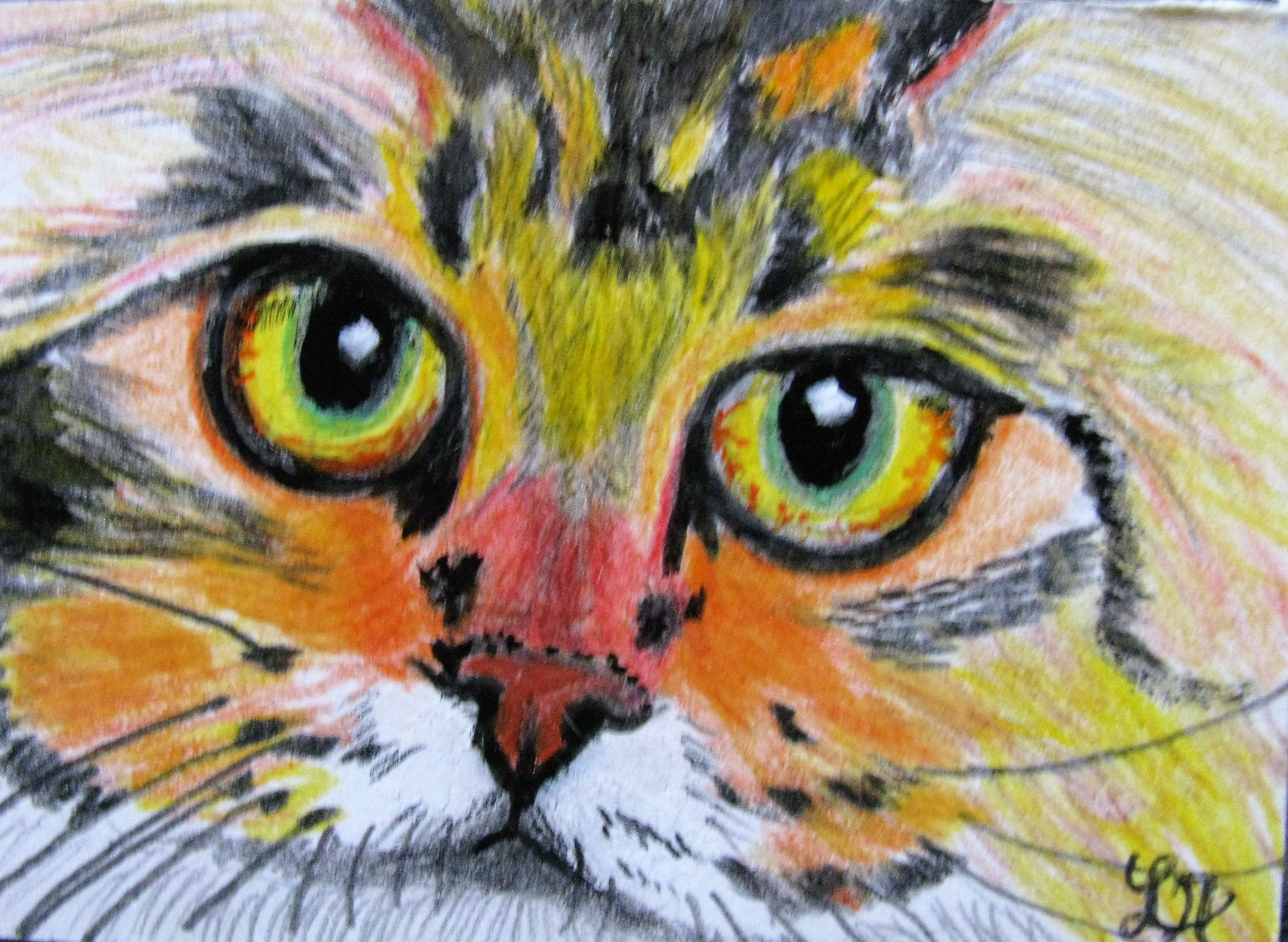 'PIPPO' ORIGINAL ACRYLIC PAINTING A286 ACEO $20.00