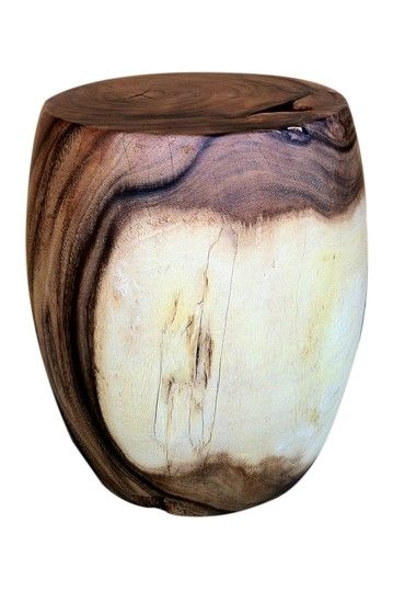 Acacia Two Tone Barrel Stool, $399.00, By Global Finds On @HauteLook