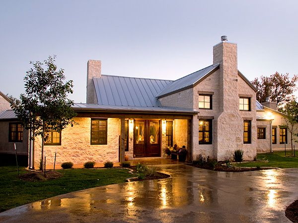 Texas limestone house plans home design and style for Hill country stone