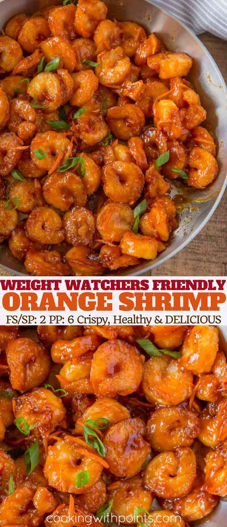 Skinny Chinese Orange Shrimp Cooking Made Healthy Recipe Food Healthy Recipes Healthy