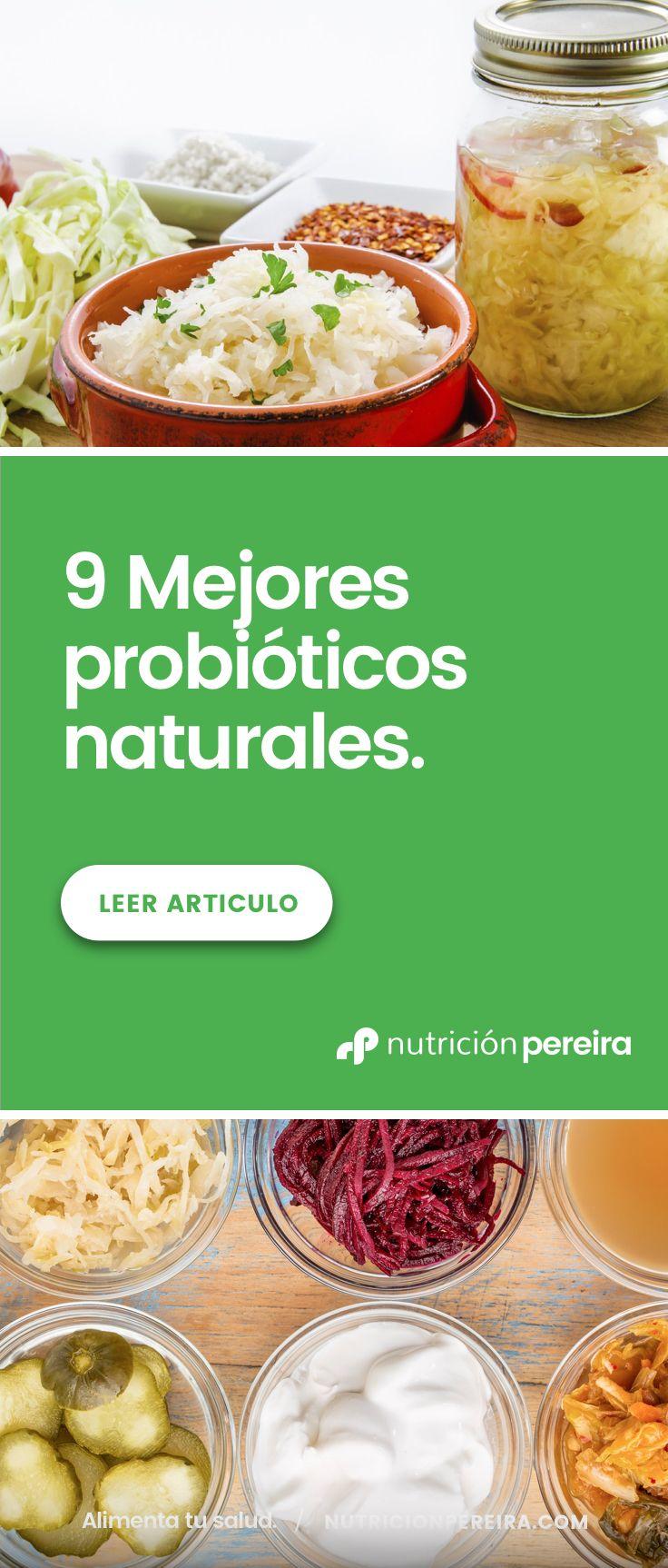 Los Mejores Probióticos Naturales Probioticos Naturales Probióticos Alimentos Fermentados