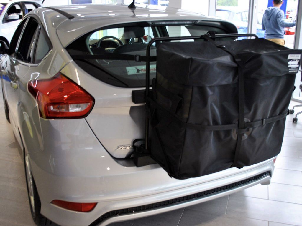 Ford Focus Roof Box No Clamps No Bars No Brackets No Fuss