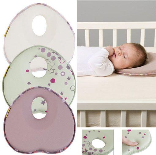 Almohada del bebé caliente de niño cojín de la cabeza plana de ...