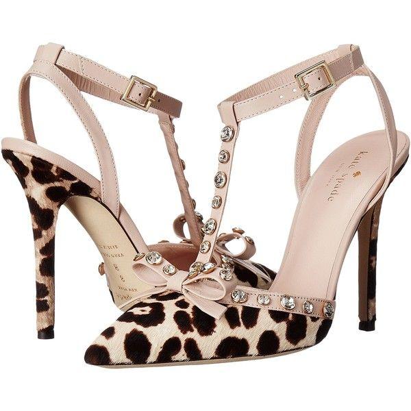 Kate Spade New York Lydia (Blush/Brown Leopard Haircalf Print/Pale.. High  Heeled FootwearHigh Heels ...