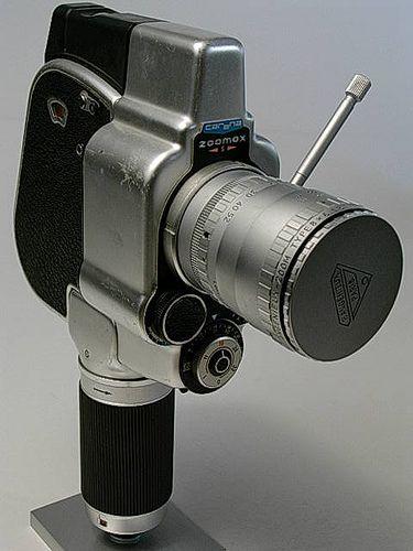 Carena Zoomex S Angenieux 1964 1 Prime Lens Movie Camera Camera