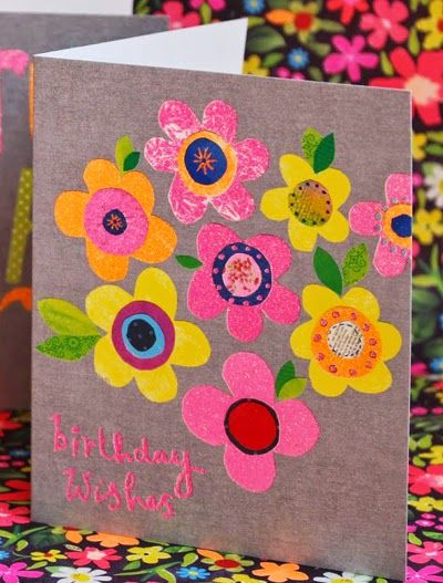 cards  wrap  paper salad  greeting card design floral
