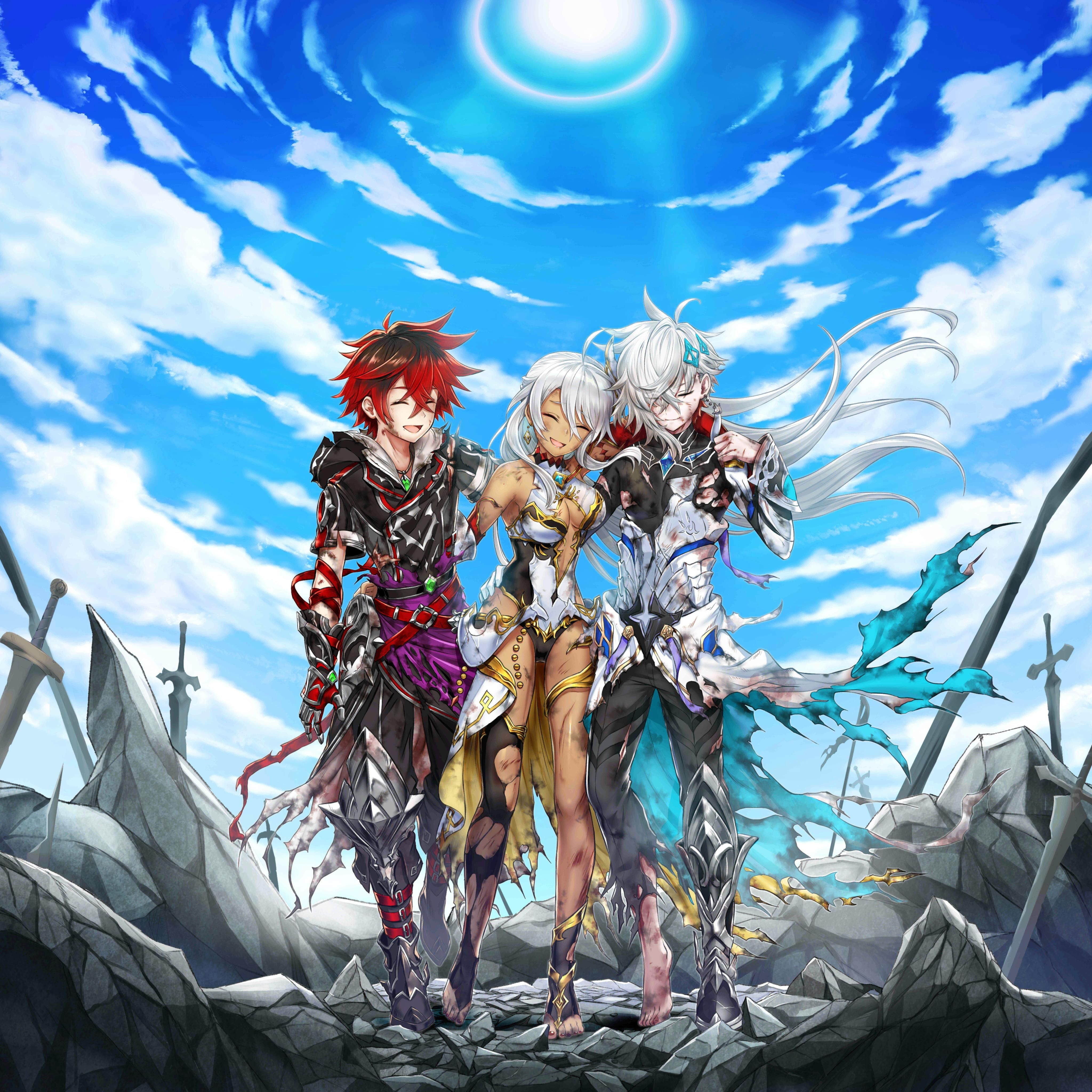 MC Serena Vice After Battle Artwork with Sky HQ Dark