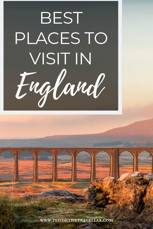 The 21 Prettiest and Best Places to Visit in England And How to See Them #travelengland