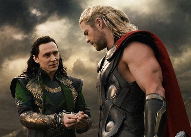 The sibling rivalry between Loki and Thor (Chris Hemsworth) continues in 'Thor: The Dark World.'