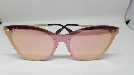 d1a0f87fff ... best price ray ban black pink mirror lens rb3580n 043 e4 cat eye  sunglasses. free