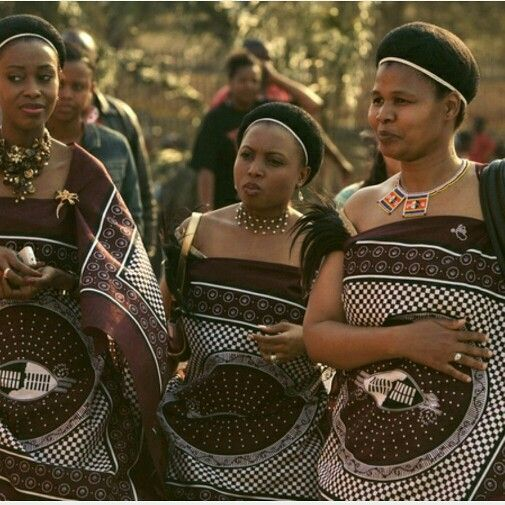 Welcome To Swaziland! The Traditional Swazi Outfits Worn