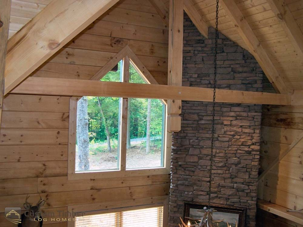 Beautiful Timber Home, plus a Peek at the Construction Process! | Top Timber Homes