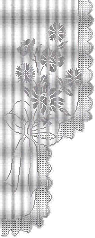 9755__25952.jpg (383×960) | Crochet | Pinterest | Vidrieras, Ventana ...