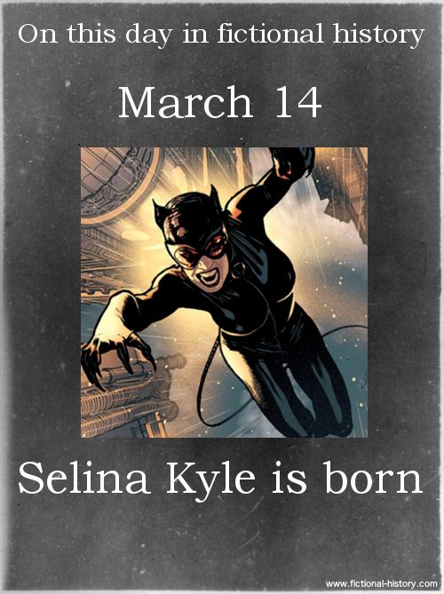 On This Date in Fictional History